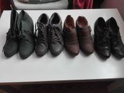 4 Paar Schuhe in Gr