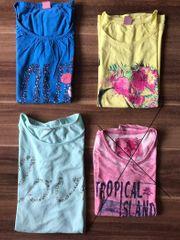 Kleiderpaket T-Shirts Mädchen Größe 146