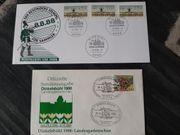 Brief und Karte von 1988