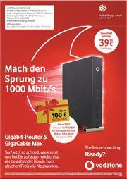 Vodafone 1000 Mbit Red Internet
