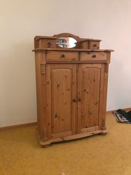Schränke, Sonstige Schlafzimmermöbel - Highboard Kiefer
