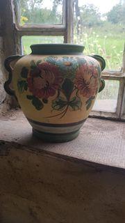 Vase Blumenmotiv
