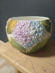 Blumentopf Keramik Handarbeit