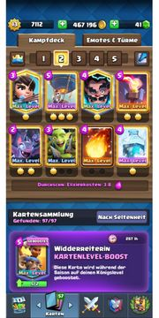 Clash Royale Account LVL 13