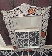 Ornament Shabby Chic Spiegel