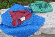 Schlafsack plus Tasche 80er Jahre