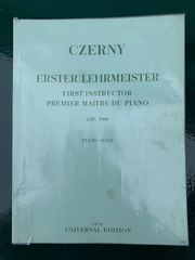 Klavier Czerny - Erster Lehrmeister