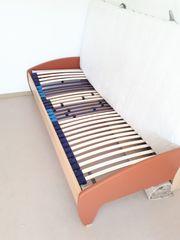 Bett 90x200cm mit Rost