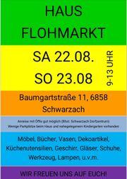 Hausflohmarkt 22 und 23 August