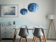 Hängeleuchte blau Zapfenform SEGRE Klein