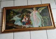 Antikes Schutzengelbild-Heiligenbild