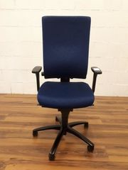 Dauphin AdJust Bürodrehstuhl blau mit