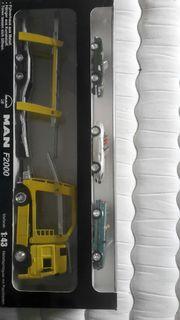 Truck mit BMW Modelle