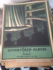 Alte Notenhefte Klavier Musikhefte von