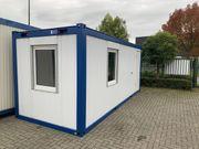 20ft Bürocontainer Baustellencontainer Baucontainer kaufen