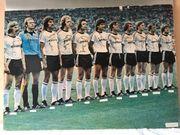 Eintracht Frankfurt signiertes Mannschaftsbild DFB-Pokalsieger