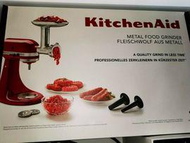 Haushaltsgeräte, Hausrat, alles Sonstige - Kitchenaid Fleischwolf 5KSMMGA