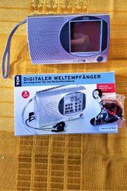 Weltempfänger Radio Digital Touchscreen Display