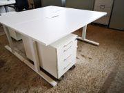 elektr höhenverst Steh-Sitz-Schreibtisch Arbeitstisch Büromöbel