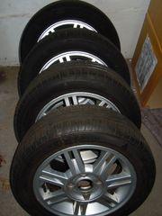 4 Sommer- Reifen Felgen Hankook