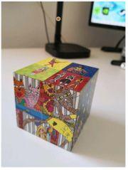 James Rizzi magic Cube Cats
