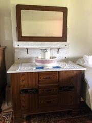 Antiker Waschtisch inkl Waschset