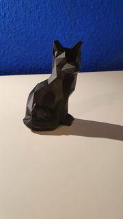 Low Poly Fuchs Deko 3D-Druck
