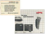 MÄRKLIN Anleitung und Katalog