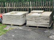 Terrassenplatten Steinplatten ca 18m2