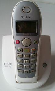 Telefon Sinus 712 weiß