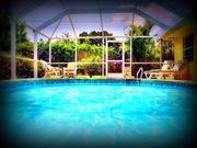 Florida-Ferienhaus PARADISE NEST Pool strandnah