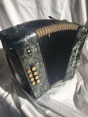 Antike Ziehharmonika Akkordeon Hohner