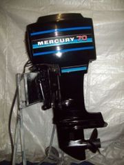 70PS Mercury 2-Takt Außenbordmotor Langschaft