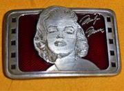 Marilyn Monroe Gürtelschnalle Rare Limited