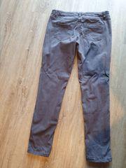 Skinny Jeans grau Gr 40