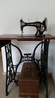 Nähmaschine Pfaff antik