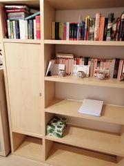 Wandregal Bücherregal in Ahorn Nachbildung