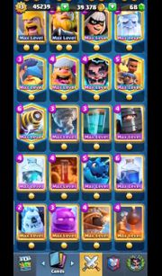 Clash Royale Maxed out Account