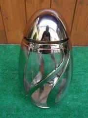 Exclusive Grablampe Verbena silber glänzend