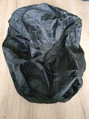 Große schwarze Allzwecktasche wasserabweisend klein
