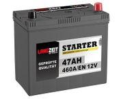 Langzeit Asia Autobatterie 47Ah LZ54523
