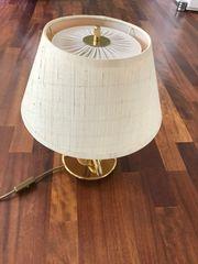 Verkaufe schöne messingfarbene Tischlampe - letzte