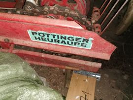 Traktoren, Landwirtschaftliche Fahrzeuge - pöttinger heuraupe 160