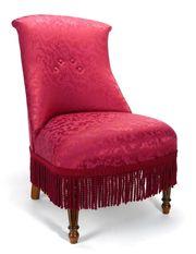 Cocktailsessel rot Wohnzimmersessel Sessel Kunstledersessel