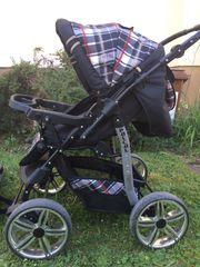 Kinderwagen mit Buggy system 2in