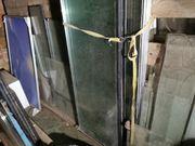 Glasscheiben Glas Fenster verschieben Größen