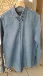 Stylischer Jeans Hemd von Zara