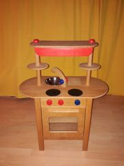 Spielküche aus Massivholz