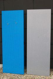 2 Lochblech-Platten für Werkzeugordnung oder