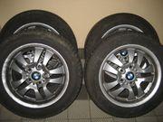 BMW alufelgen mit neuwertige sommer